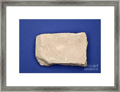 Kaolinite Framed Print by Ted Kinsman