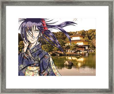 Kaoru Framed Print by Tuan HollaBack