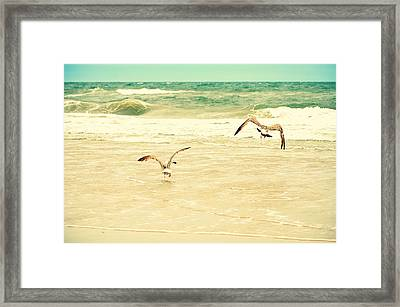 Karate Kid Pose Framed Print