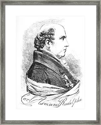 Karl Rudolphi, Swedish Naturalist Framed Print by