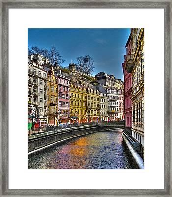 Karlovy Vary - Ceska Republika Framed Print by Juergen Weiss