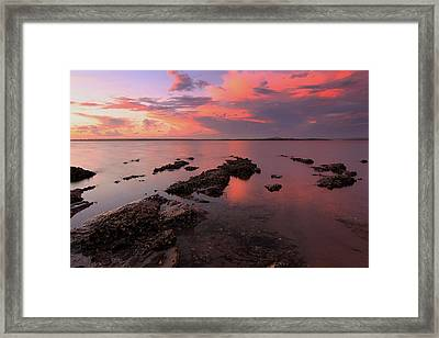 Karuha Sunset 2 Framed Print
