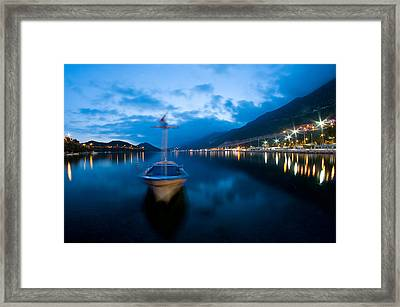 Framed Print featuring the photograph Kas - 2 by Okan YILMAZ