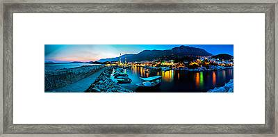 Framed Print featuring the photograph Kas - 4 by Okan YILMAZ