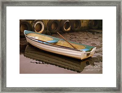 Kaseberga Harbour 2 Framed Print