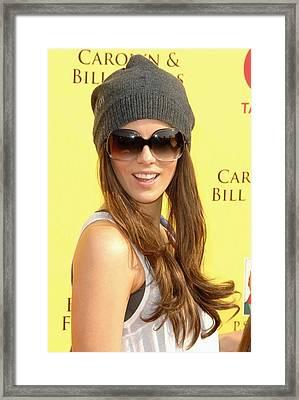 Kate Beckinsale At Arrivals For 2008 Framed Print