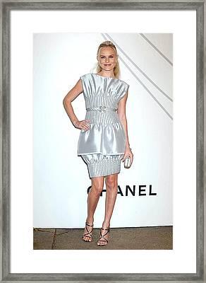 Kate Bosworth At Arrivals For Mobile Framed Print