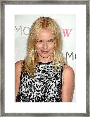 Kate Bosworth At Arrivals For Moca 30th Framed Print