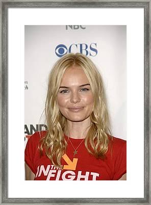 Kate Bosworth At Arrivals For Stand Up Framed Print
