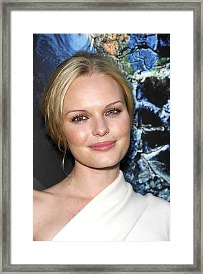 Kate Bosworth At Arrivals For The 11th Framed Print by Everett