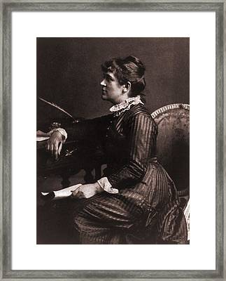 Kate Greenaway 1846-1901, A Leading Framed Print by Everett