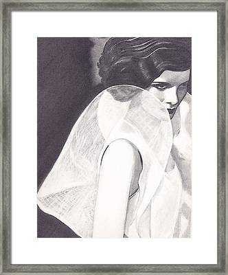 Kate Framed Print by Jill Dodson