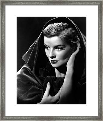 Katharine Hepburn, 1936 Framed Print by Everett