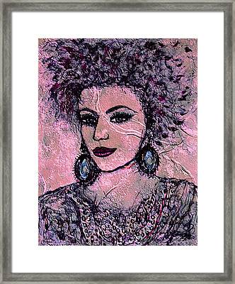 Katherine Framed Print by Natalie Holland