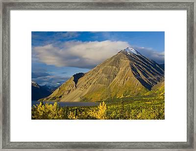 Kathleen Lake, Kluane National Park Framed Print by John Sylvester