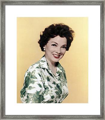 Kathryn Grayson, Ca 1950s Framed Print by Everett