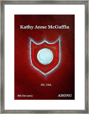 Kathy Anne Mcguffin Framed Print