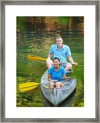 Katie And Dan 3 Framed Print by James Granberry