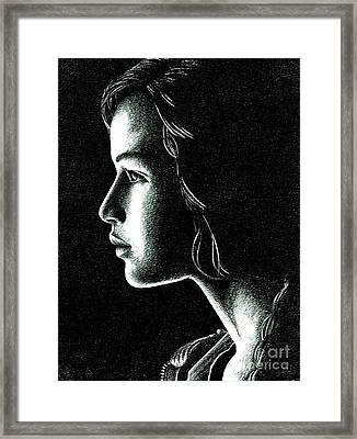 Katniss Everdeen Framed Print