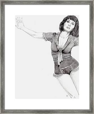 Katy Perry Framed Print by Blake Grigorian