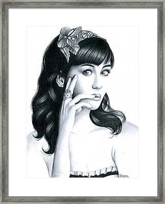 Katy Perry Framed Print