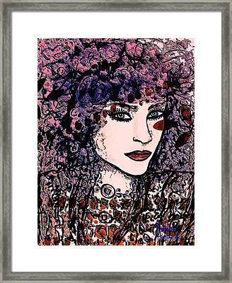 Katya Framed Print by Natalie Holland