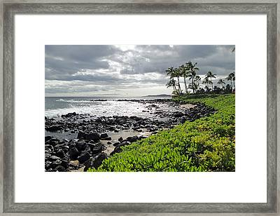 Kauai Afternoon Framed Print by Robert Meyers-Lussier