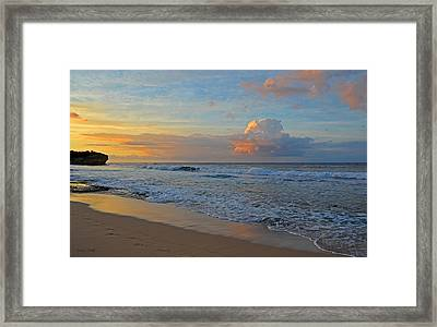 Kauai Morning Light Framed Print