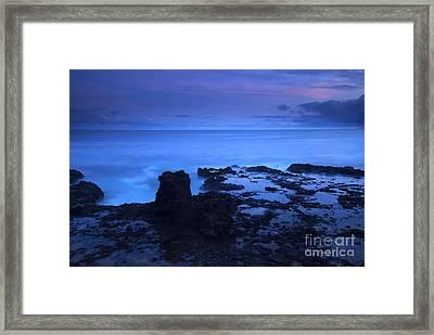 Kauai Twilight Framed Print
