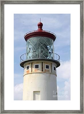 Kauai's Northern Light...kilauea Lighthouse  Framed Print by Terri Thompson