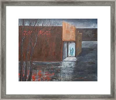 Kay Box  Framed Print by Elizabeth Lane