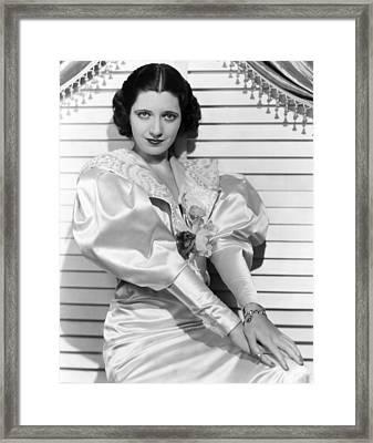 Kay Francis, Ca. Mid-1930s Framed Print by Everett
