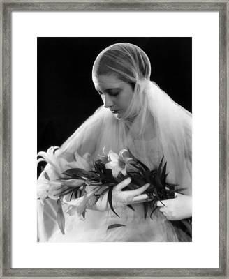 Kay Francis, May 29, 1930 Framed Print by Everett