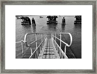 Kayak Ramp Framed Print