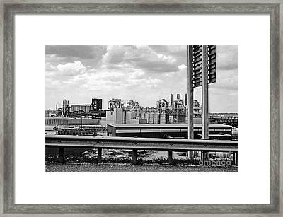 Kc Industry Framed Print by Gib Martinez