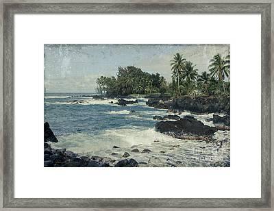 Keanae  Framed Print by Sharon Mau