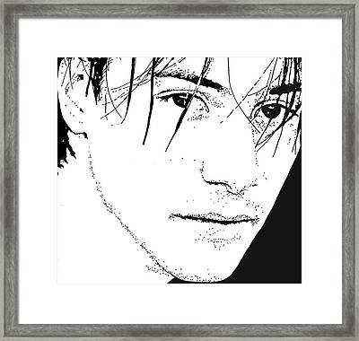 Keanu Reeves 2 Framed Print