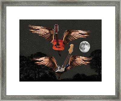 Keep Reaching Up Framed Print by Eric Kempson