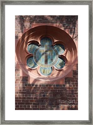 Keep The Faith Framed Print by Ted Wheaton
