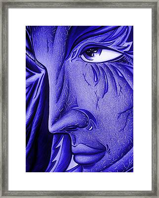 Keeper Of Her Safety At Night Framed Print