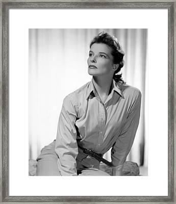 Keeper Of The Flame, Katharine Hepburn Framed Print