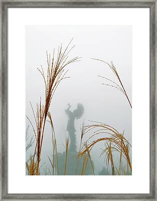 Keeper Of The Fog Framed Print