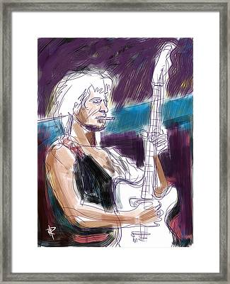 Keith Framed Print by Russell Pierce