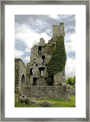 Kells Abbey Tower Framed Print by George Crawford