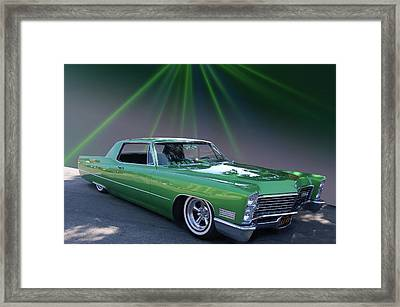 Framed Print featuring the photograph Kelly Caddy by Bill Dutting