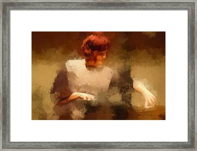 Kelly Snook Framed Print by Chris Miller
