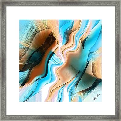 Kelp Forest Framed Print by Rick Thiemke
