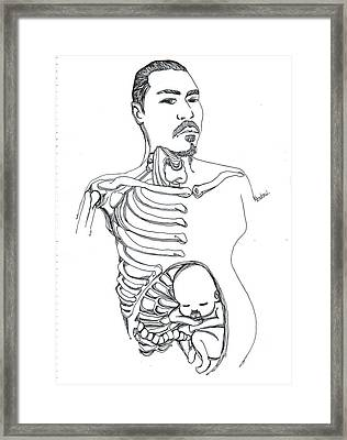 Kendrew Framed Print by Kendrew Black