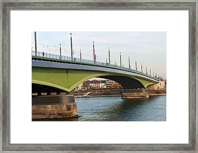 Kennedy Bridge Framed Print by Design Windmill