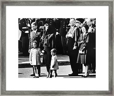 Kennedy Funeral, 1963 Framed Print by Granger
